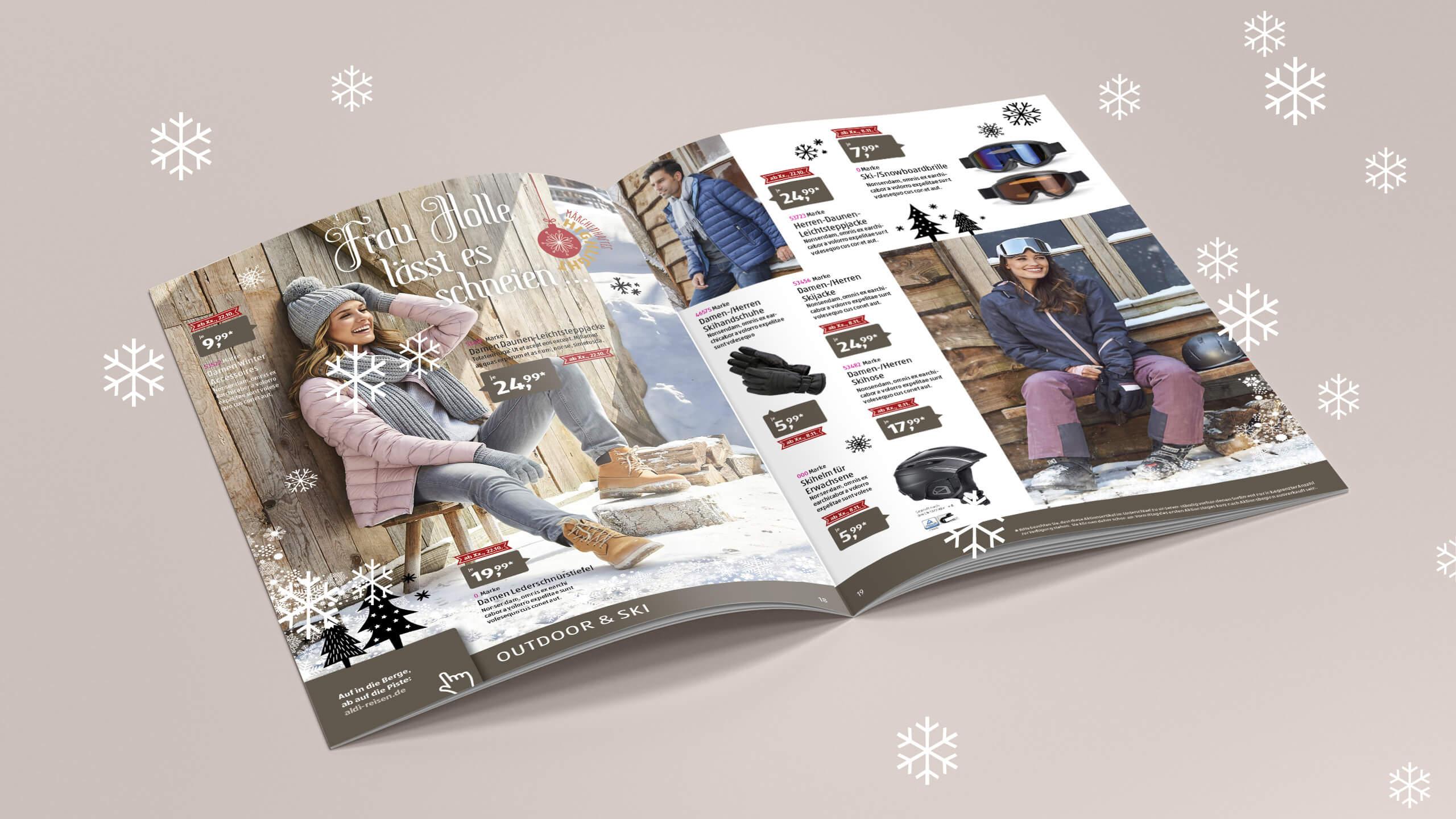 Weihnachtskarten Aldi Süd.Alexandra Westphal Art Creative Direction Freelancealdi Süd
